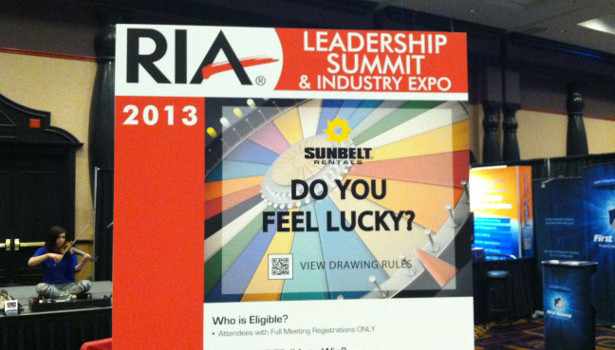 2013 RIA Leadership Summit & industry Expo