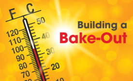 Building bake-out