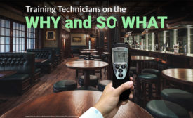 training technicians on the why and so what