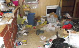 Decontaminating a Former Meth House