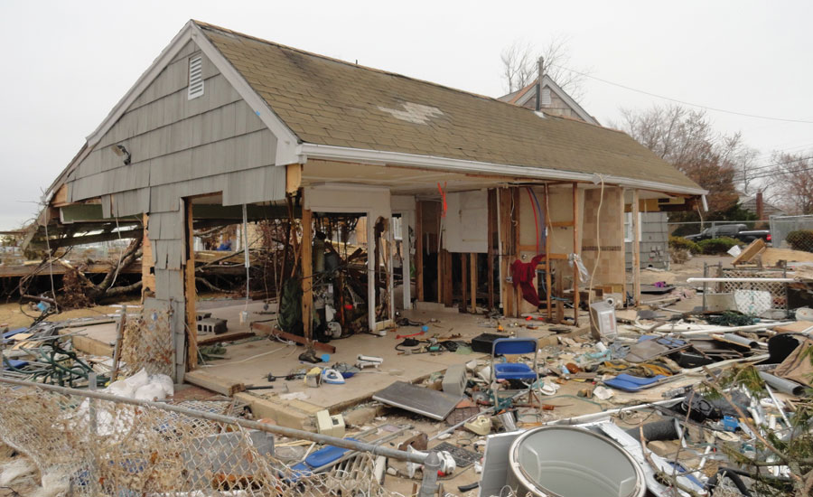 Major Structural Damage From Storm Surge