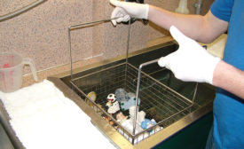 ultrasonic contents cleaning