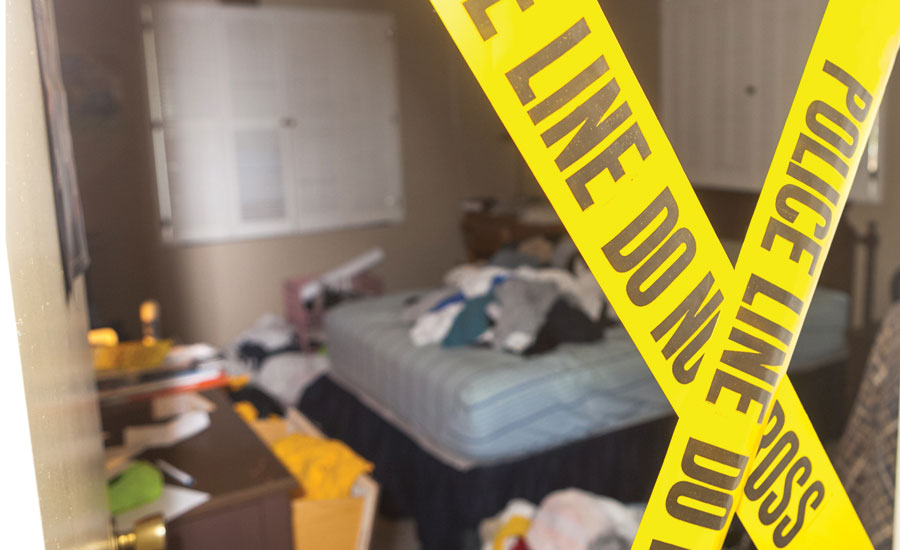 Forensic biohazard and crime scene contents cleaning
