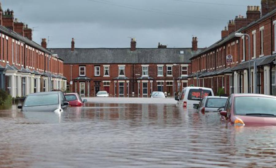 Flooding in Northern England in December 2015.