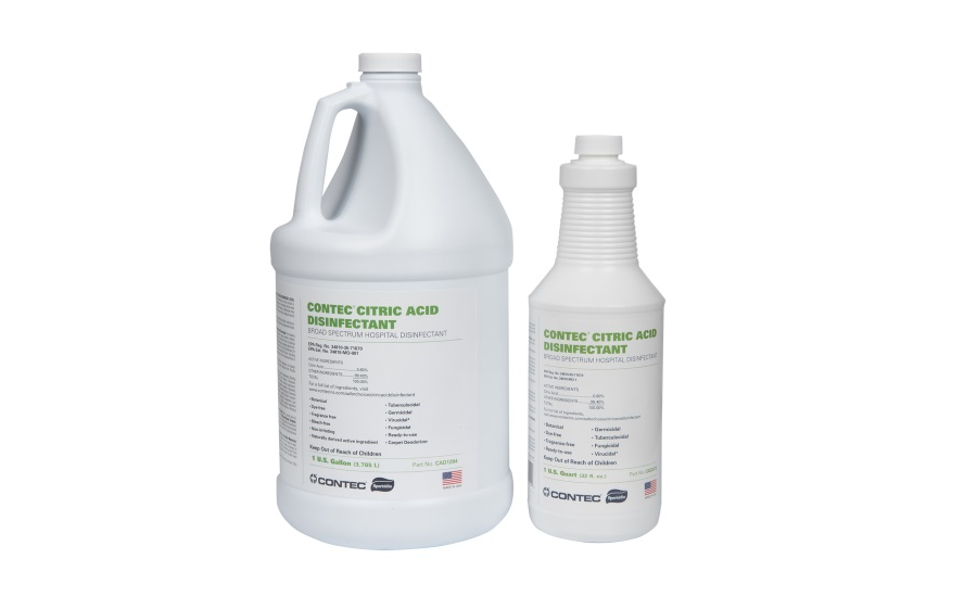 Contec Introduces Effective Botanical Citric Acid