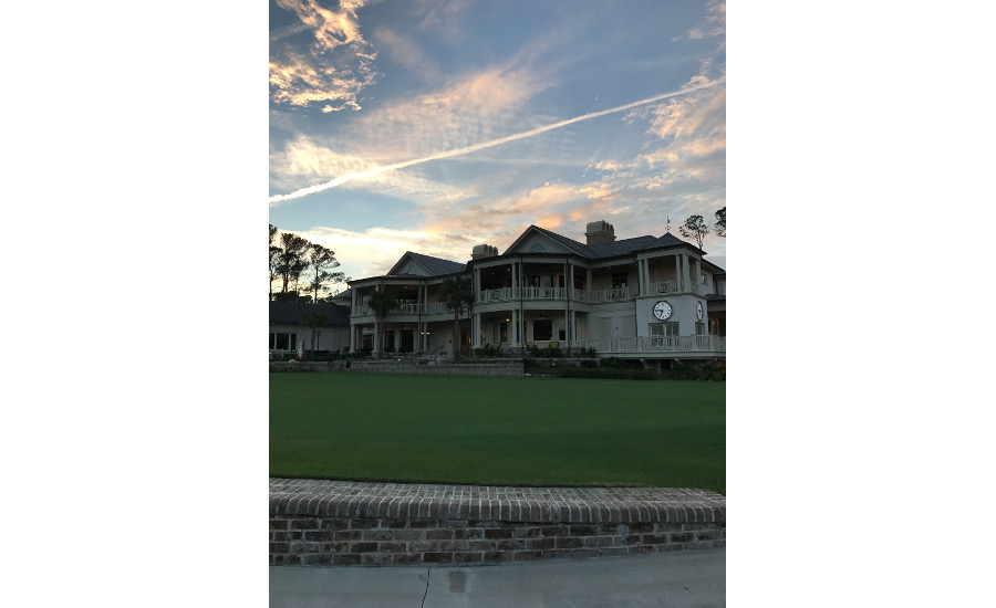 The exterior of Sea Pines Golf Course.
