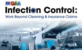 Infection control work beyond cleaning insurance claims