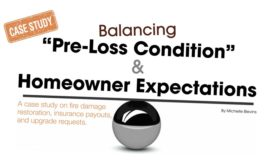 Balancing Pre-loss Condition homeowner expectations