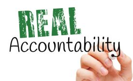 Real accountability