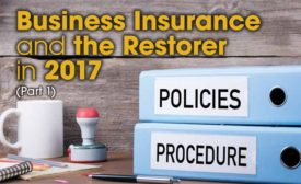 Business Insurance and the Restorer in 2017 (Part 1)
