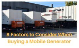 generator purchase