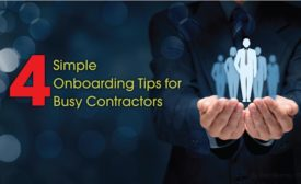 4 Simple Onboarding Tips for Busy Contractors