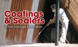 Coatings & Sealers in Fire Damage Restoration