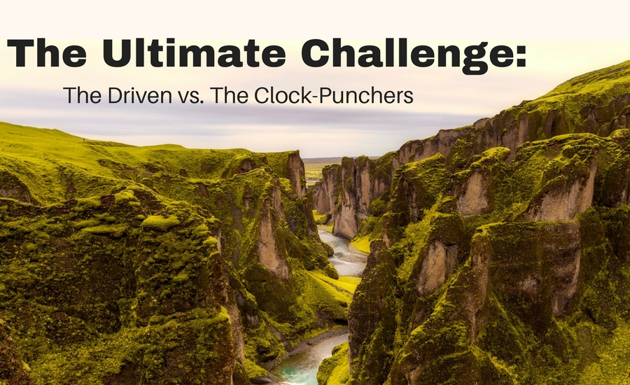 The-great-divide-the-driven-the-clock-punchers
