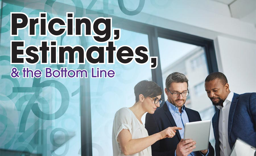 Pricing, Estimates, & the Bottom Line | 2017-09-01