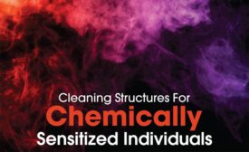 Cleaning structures for chemically sensitized individuals