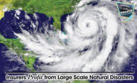 Insurers Profit from Large Scale Natural Disasters