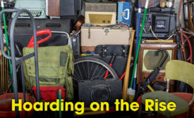 Hoarding presents a very real danger to all those involved.