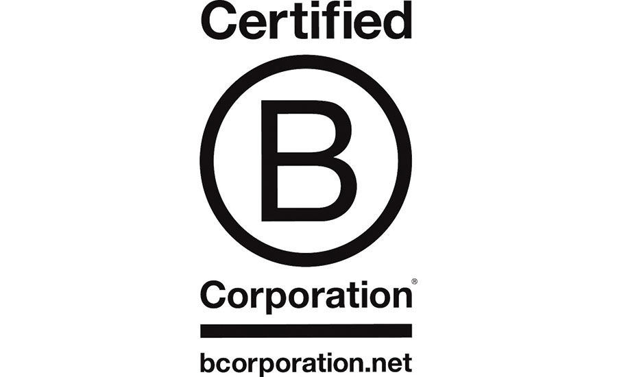 The official B Corp. certification logo.