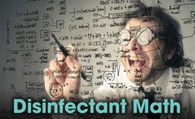 Disinfectant Math