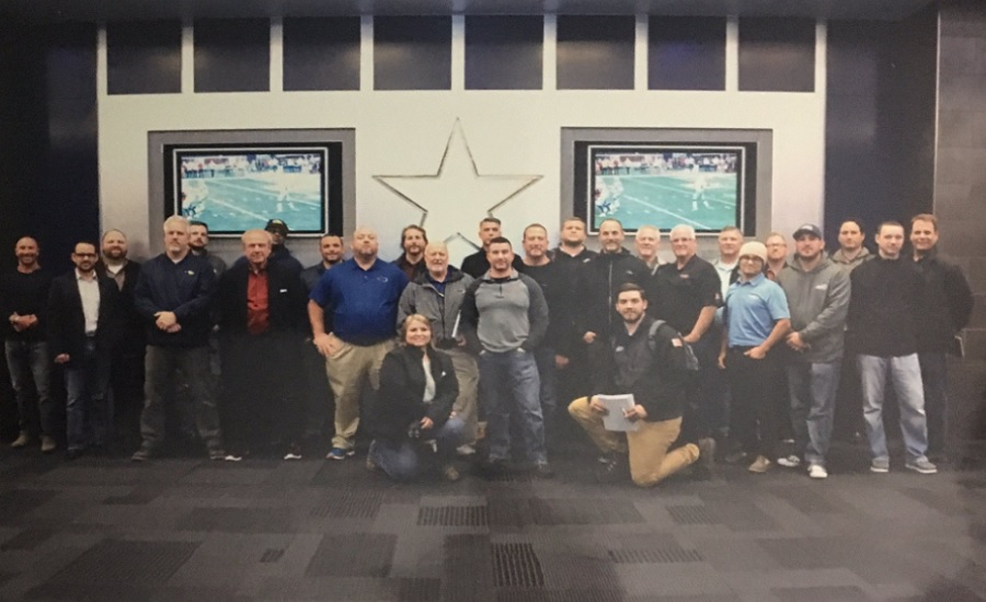 Odorox Participates in Large Loss Mastery Training at AT&T Stadium