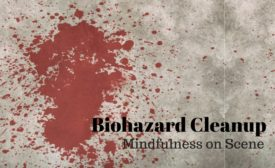 biohazard cleanup customer