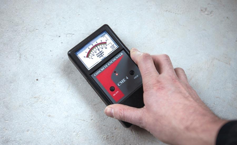 moisture detecting