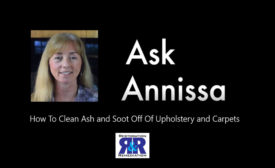 Ask Annissa: Cleaning Ash and Soot Off Upholstery and Carpet