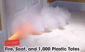 Fire, soot, and disaster cleanup