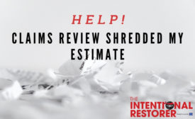 shredded estimate