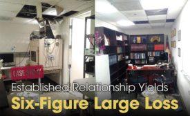 Six-figure large loss