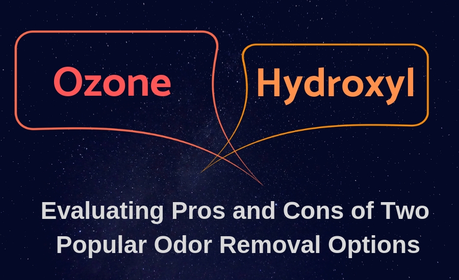 hydroxyl or ozone