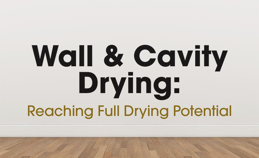 Wall and Cavity Drying