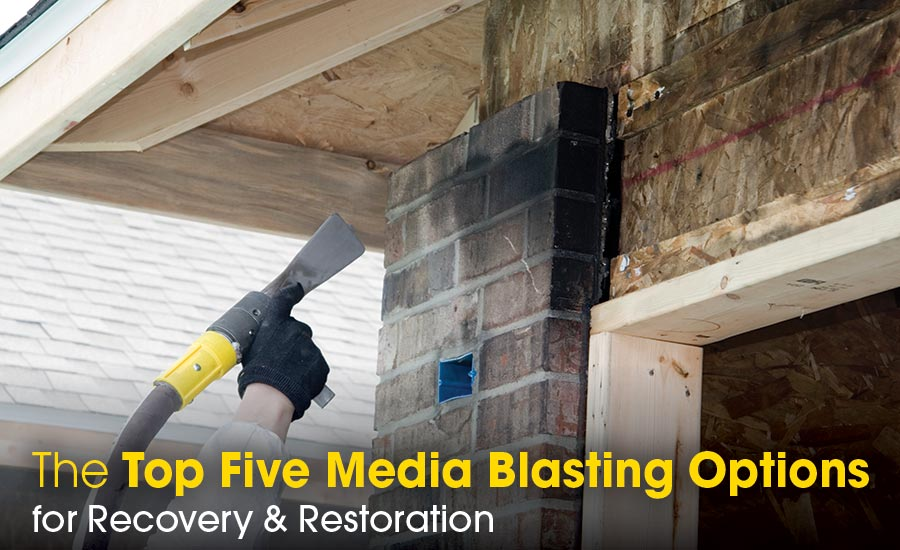 Top Five Media Blasting Options | 2019-03-12 | Restoration