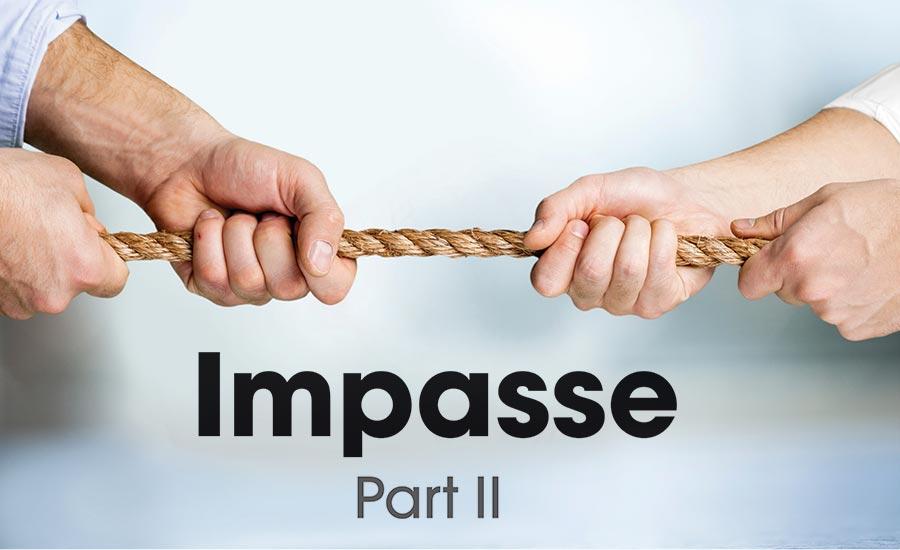 Impasse, Part II: The role of the BATNA   2019-05-06
