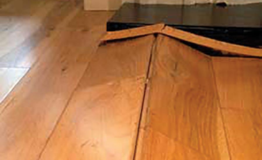 buckling floor