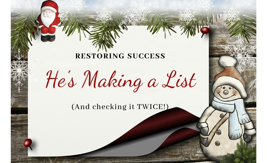 restoring success lists