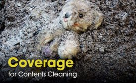 Coverage for contents cleaning