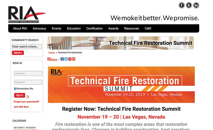Restoration Industry News
