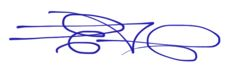 Edward Cross signature
