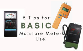 moisture meter basics