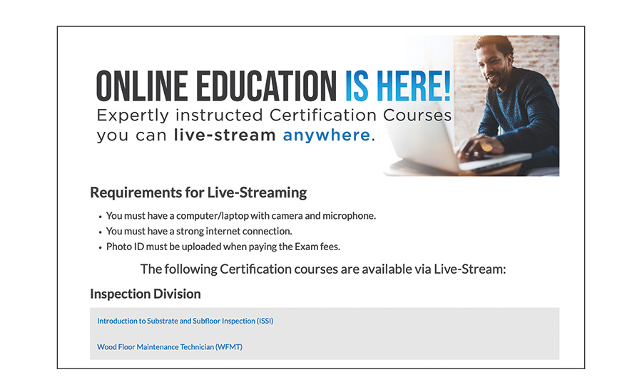 IICRC online education