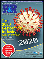 Restoration & Remediation December 2020 Cover