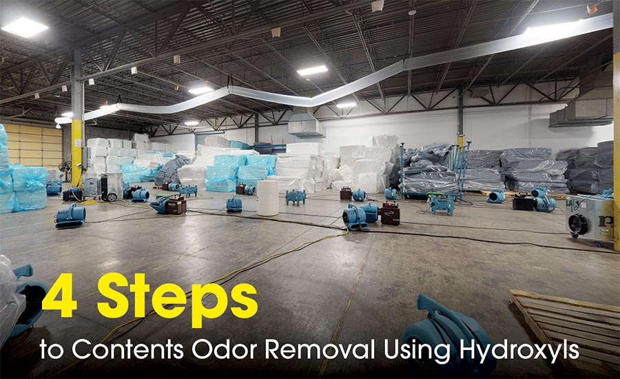 contents odor removal