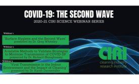 CIRI second wave webinars
