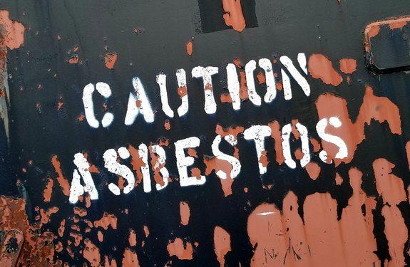 asbestos floods