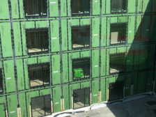 water-damaged hotel project