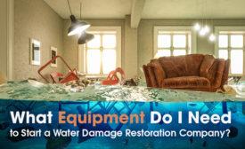 water restoration startup