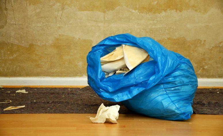trash bag restoration success