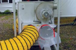 desiccant drying machine tubing